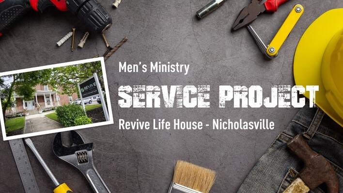 Men's Minsitry Service Project